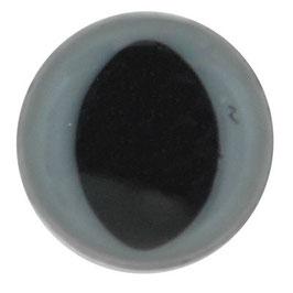 Veiligheids katten ogen 12 mm grijs