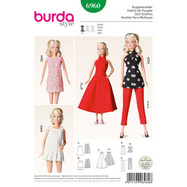 Burda patroon nr: 6960