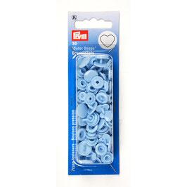 Hart Color Snaps blauw