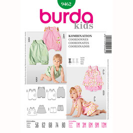 Burda patroon nr: 9462