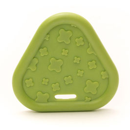Donker groene driehoek bijtring van Durable.