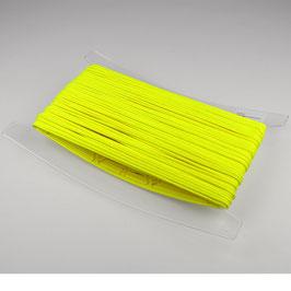 Capuchon koord 3,5 mm neon geel