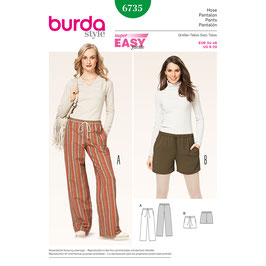 Burda patroon nr: 6735