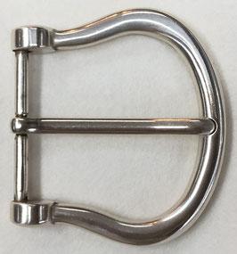 Metalen gesp D vorm lichte glans nr:901