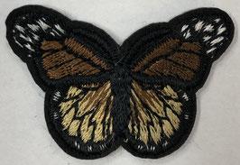 Kleine vlinder applicatie bruin