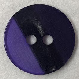Ronde knoop paarse streep 2 gaats