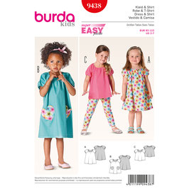 Burda patroon nr: 9438