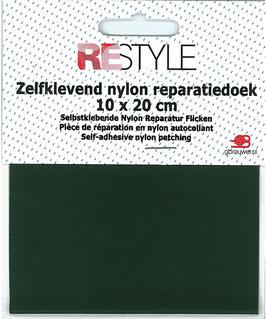 Zelfklevend nylon reparatiedoek groen