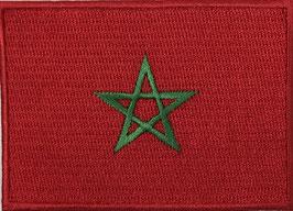 Vlag applicatie van Marokko