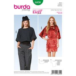 Burda patroon nr: 6850