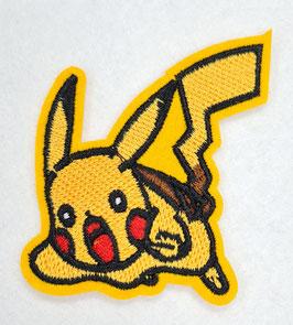Aanvallende pikachu Pokémon applicatie