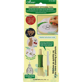 Clover embroidery stitching tool punching needle
