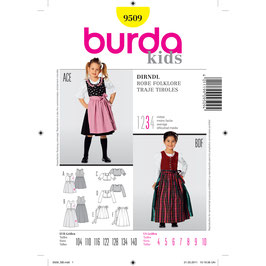 Burda patroon nr: 9509