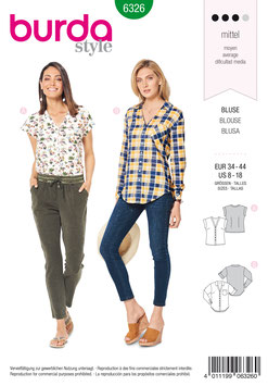 Burda patroon nr: 6326