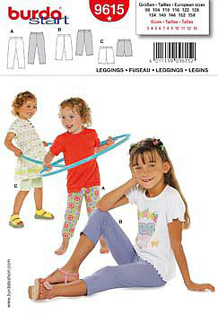 Burda patroon nr: 9615