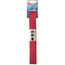 Tassenband van Prym rood