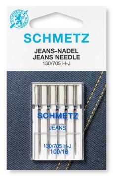 Schmetz Jeans 130/705 H-J 100-16