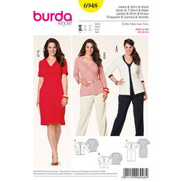Burda patroon nr: 6948