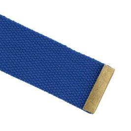 Bronskleur metalen eindstuk voor tassenband