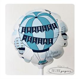 Ballon personnalisé : montgolfières