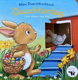 Pappbillerbuch: Ouschterdag (mat Duerchkuckbiller)