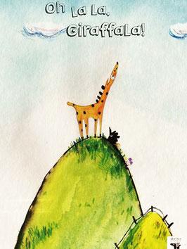 Billerbuch: Oh la la, Giraffala!
