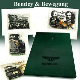 Exklusives Mappenwerk Bentley und Bewegung