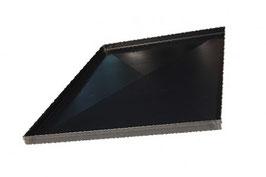 Teglia Bluito in acciaio cm 60x40x2 con croce