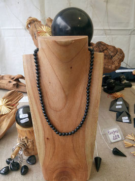Collier perles rondes