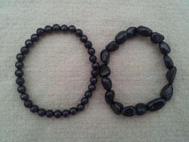 Bracelet perles rondes ou naturelles
