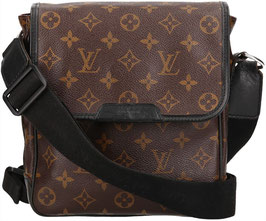 Louis Vuitton Bass PM Umhängetasche aus Monogram Macassar Canvas