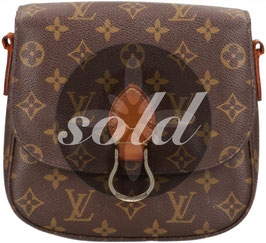 Louis Vuitton Saint Cloud MM Handtasche aus Monogram Canvas