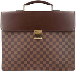 Louis Vuitton Altona PM Aktentasche aus Damier Ebene Canvas