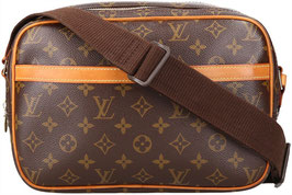Louis Vuitton Reporter Umhängetasche aus Monogram Canvas