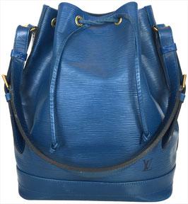 Louis Vuitton Noé Grand Model Schultertasche aus Epi Leder in Toledo Blau