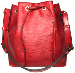 Louis Vuitton Noé Petit Model Schultertasche aus Epi Leder in Castillian Rot
