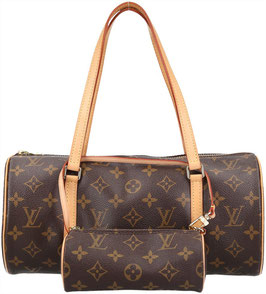 Louis Vuitton Papillon Henkeltasche aus Monogram Canvas