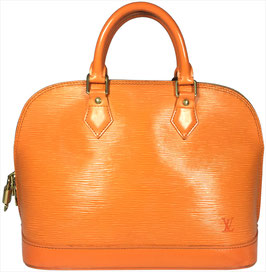 Louis Vuitton Alma PM Henkeltasche aus Epi Leder in Mandarin Orange