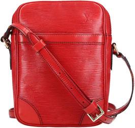 Louis Vuitton Danube Umhängetasche aus Epi Leder in Castillian Rot