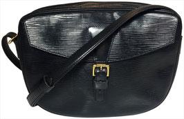 Louis Vuitton Jeune Fille Umhängetasche aus Epi Leder in Kouril Schwarz