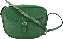 Louis Vuitton Jeune Fille Umhängetasche aus Epi Leder in Borneo Grün