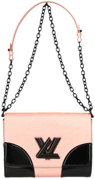 Louis Vuitton Twist MM Umhängetasche aus Epi Leder in Rose Nacre