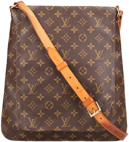 LOUIS VUITTON MUSETTE SALSA GM UMHÄNGETASCHE AUS MONOGRAM CANVAS