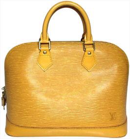 Louis Vuitton Alma PM Henkeltasche aus Epi Leder in Tassil Gelb