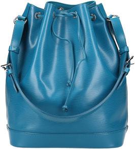 Louis Vuitton Noe GM Schultertasche aus Epi Leder in Cyan
