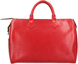 Louis Vuitton Speedy 30 Henkeltasche aus Epi Leder in Castillian Rot