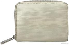 Louis Vuitton Zippy Geldbörse aus Epi Leder in Creme Weiss
