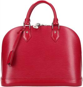 Louis Vuitton Alma PM Henkeltasche aus Epi Leder in Fuchsia