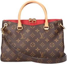 Louis Vuitton Pallas BB Handtasche aus Monogram Canvas in Cerise