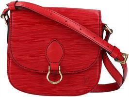 Louis Vuitton Saint Cloud PM Umhängetasche aus Epi Leder in Castillian Rot